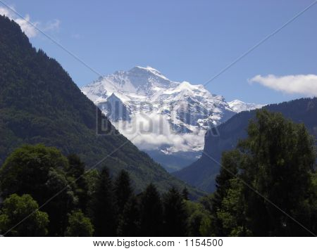 Jungfrau And Foothills