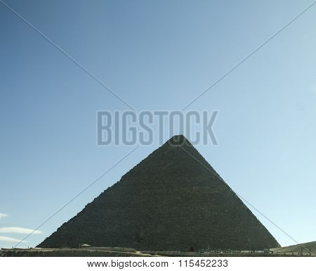 Pyramid Of Cheops In Egypt