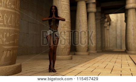egypt style dancer