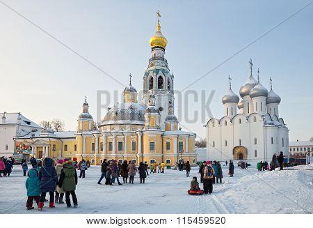 Vologda, Kremlin Square