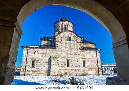 Curtea De Arges Town, Romania