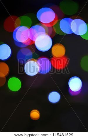 Defocused Abstract Bokeh Light Background.