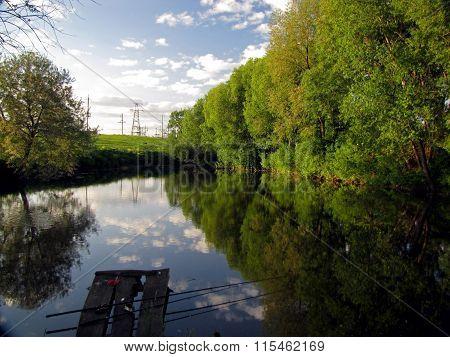 Waiting of fishing