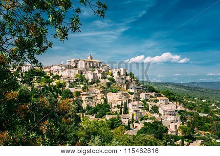 Ancient village of Gordes in Provence, France
