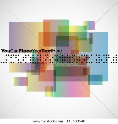 Abstract geometric business design