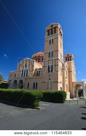 Cathedral Of The Archdiocese Of Panagia Catholics Limassol