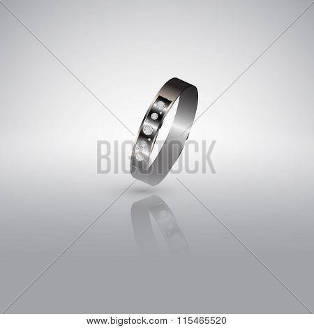 Precious Ring With Diamonds 2