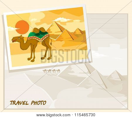 travel photo template