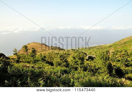 Mountain Below Ribeira Filipe