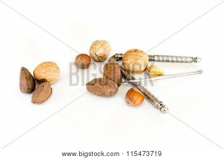 Nuts And Nut Cracker