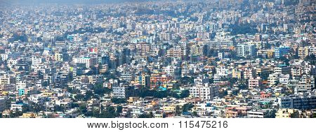 Visakhapatnam, INDIA - December 9 : Visakhapatnam is a largest city in newly bifurcated Andhra Pradesh state in India, On December 9,2015 Visakhapatnam, India