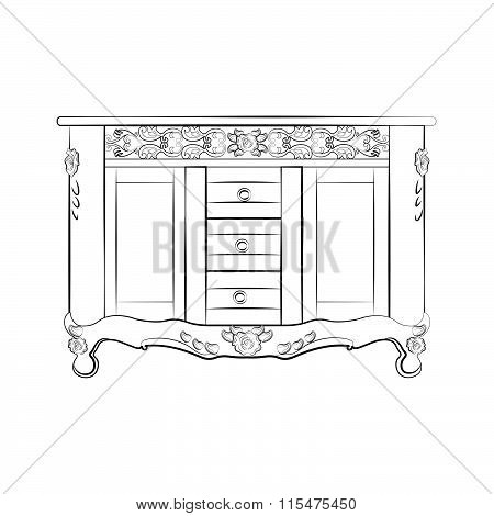 Classic sideboard furniture