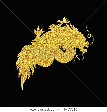 Chinese Gold Dragon
