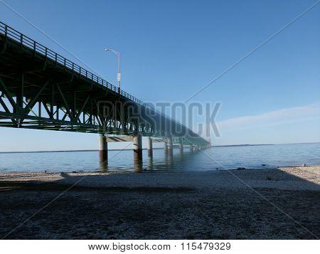 Bridge over Great Lakes