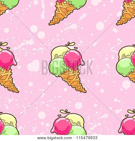 Ice-cream Pattern