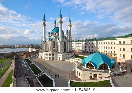 Kul Sharif mosque in Kazan Kremlin. Russia