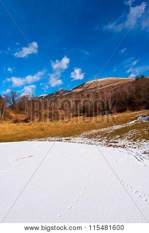 Alpine Frozen Pond - Monte Baldo Italy
