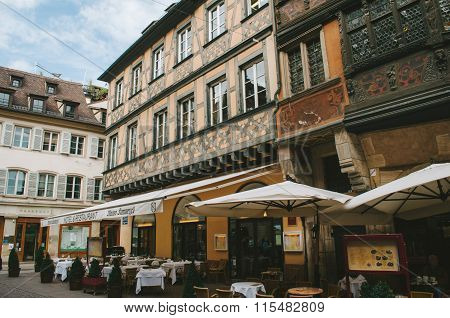 Old And Luxury Restaurnat In France