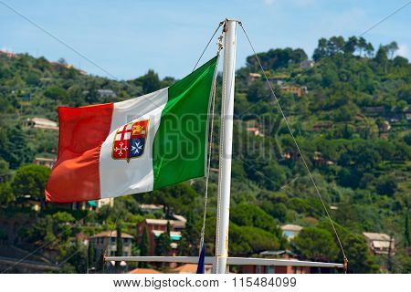 Nautical Flag Of Italy