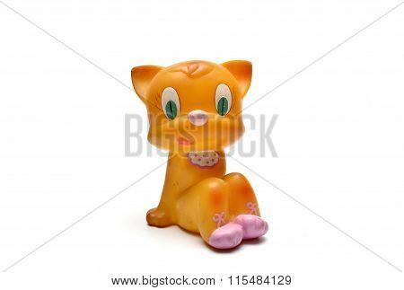 Yellow Cat Toy