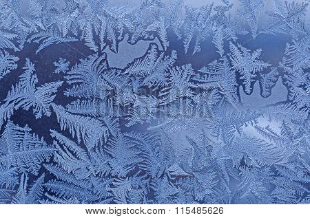 Close Up Of Frost Pattern