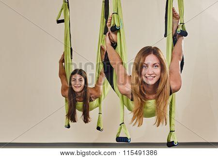 woman yoga portrait