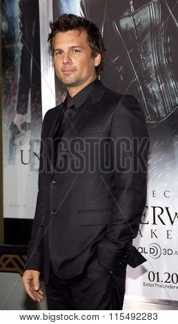 Len Wiseman at the Los Angeles Premiere of