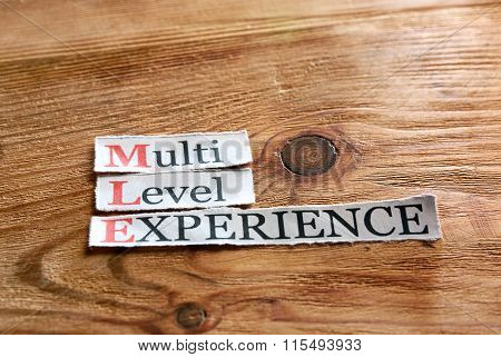 Mle- Multi Level Experience