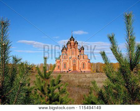 Chapel In Achair Monastery, Omsk Region, Siberia, Russia