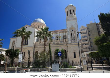 Cathedral Of Ayia Napa In Limassol, Cyprus.