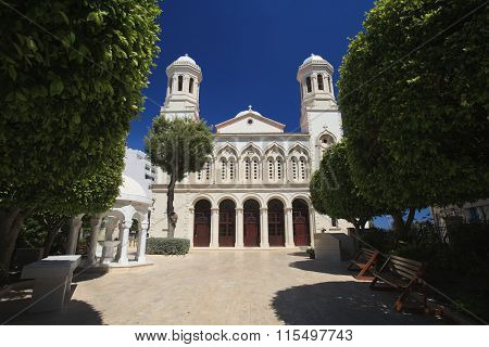 Church Of Ayia Napa In Limassol, Cyprus.