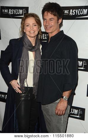 LOS ANGELES - JAN 18:  Dina Meyer, Patrick Muldoon at the Little Dead Rotting Hood Premiere at the Laemmle NoHo 7 on January 18, 2016 in North Hollywood, CA