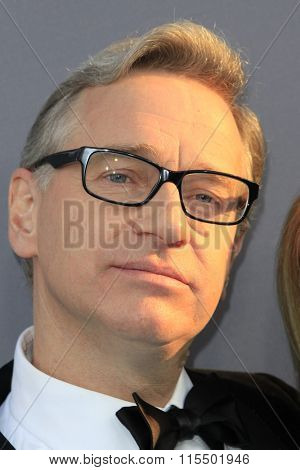 LOS ANGELES - JAN 17:  Paul Feig at the 21st Annual Critics Choice Awards at the Barker Hanger on January 17, 2016 in Santa Monica, CA