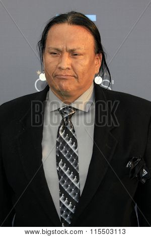 LOS ANGELES - JAN 17:  Arthur Redcloud at the 21st Annual Critics Choice Awards at the Barker Hanger on January 17, 2016 in Santa Monica, CA