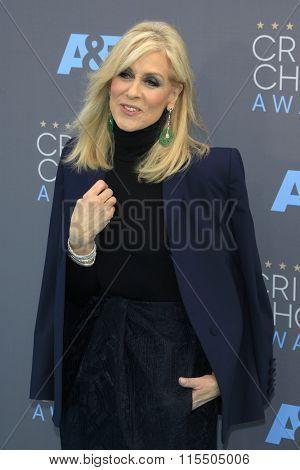 LOS ANGELES - JAN 17:  Judith Light at the 21st Annual Critics Choice Awards at the Barker Hanger on January 17, 2016 in Santa Monica, CA