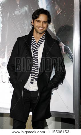 Michael Steger at the Los Angeles Premiere of