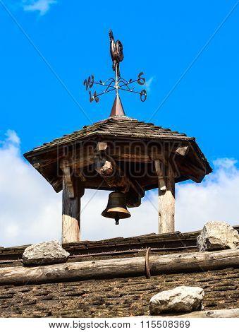 Church steeple of a German village