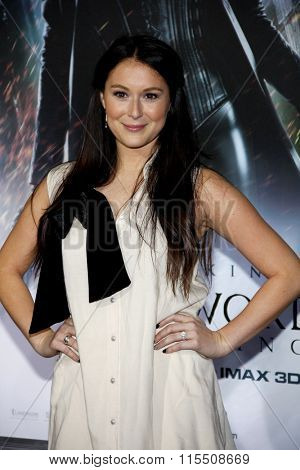 Alexa Vega at the Los Angeles Premiere of