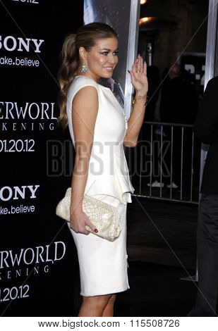 Carmen Electra at the Los Angeles Premiere of