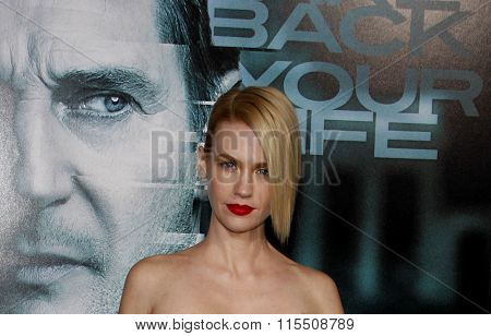 January Jones at the Los Angeles Premiere of
