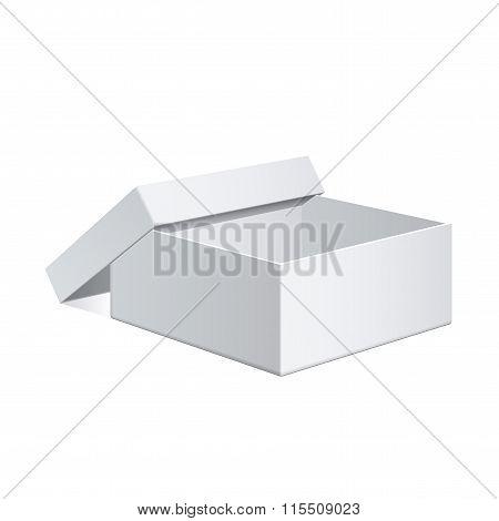 White Package Cardboard Box