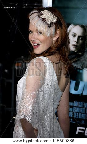 Sarah Drew at the Los Angeles Premiere of