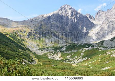Tatra Mountains in Slovakia Lomnicky stit