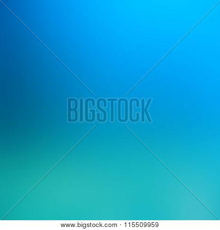 Underwater aquamarine blurred background