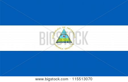 Standard Proportions For Nicaragua Flag