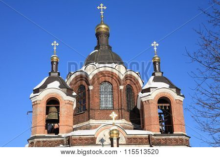 Church In The Winter Daytime