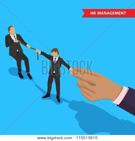 Battle for employee