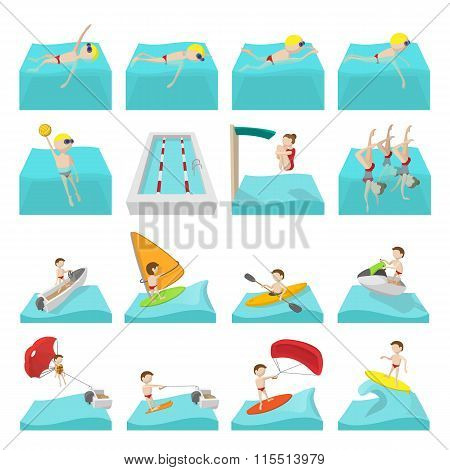 Water sport icons. Water sport icons art. Water sport icons web. Water sport icons new. Water sport icons www. Water sport set. Water sport set art. Water sport set web. Water sport set new