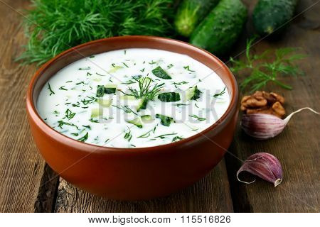 Cold Soup With Yoghurt