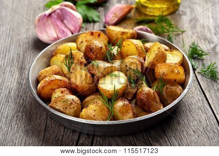 Roasted Potato With Dill